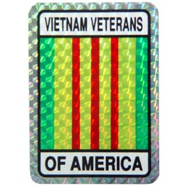 Vietnam Veteran Ribbon Decal