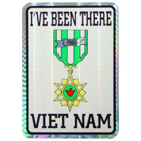 Vietnam Campaign Decal