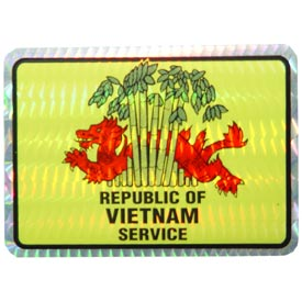 Vietnam Service Decal