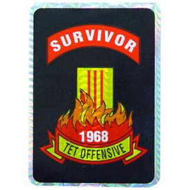 Vietnam 1968 Survivor Decal