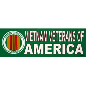 Vietnam Vets Of America Bumper Sticker