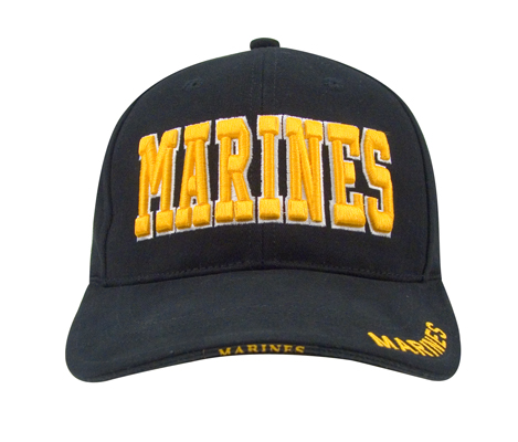 Marines Deluxe Low Profile Cap Gold Letters