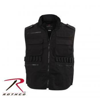 Black Ranger Vest Many Pockets