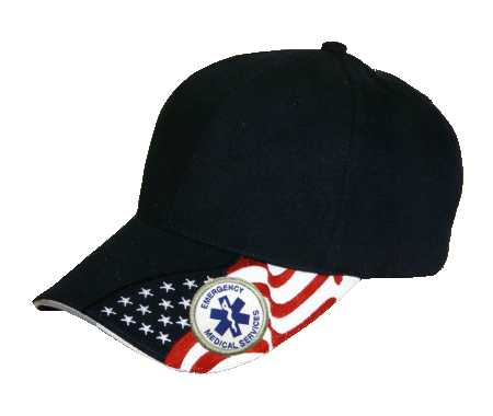First Responder EMS Navy Low Profile Cap
