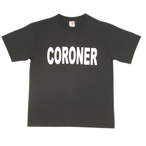 Coroner T-shirt Great Costumes