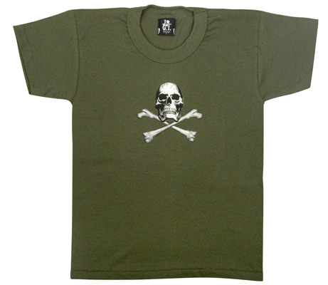 Youth Skull and Crossbone Tee Pirate shirt