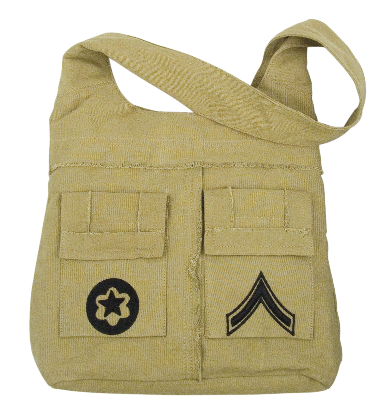 Vintage Khaki Uni-Strap Bag Makes a Great Purse
