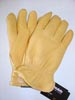 Black Lined Deer Skin Gloves Thinsulate Insulation