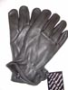 Unlined Black Deer Skin Glove