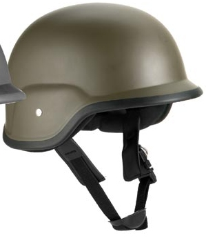 GI Style Pastic ABS Helmet OD -NOT FOR PROTECTIVE USE!