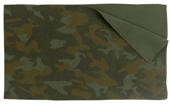 Rothco Woodland Camo Scarf Stay Warm This Winter