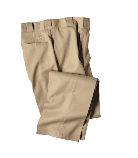 Khaki Dickie Uniform Pant