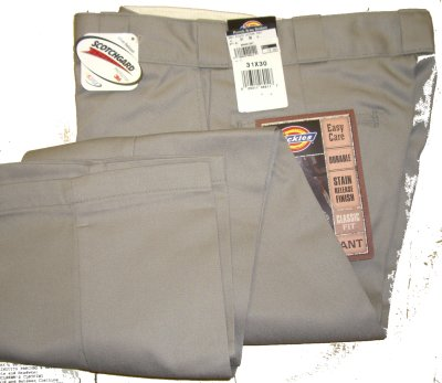Grey Dickie Uniform Pant