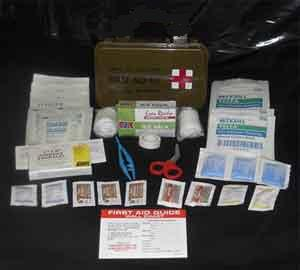 GI General Purpose First Aid Kit-Waterproof Box