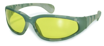 Digital Camo Safety Glasses Yellow Lenses
