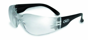 Rider Safety Glasses Clear Lenses