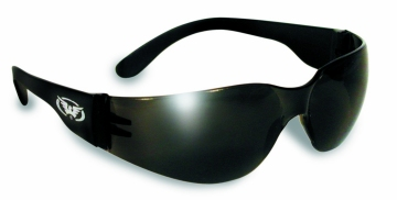 Rider Safety Glasses Smoke Lenses