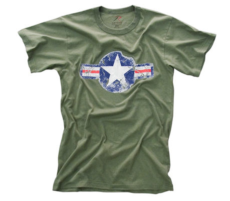 Vintage Army Air Corp OD T-shirt