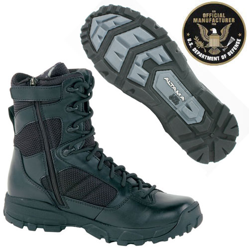 Altama Lite Speed Tactical 8 Inch Boot With Side Zip