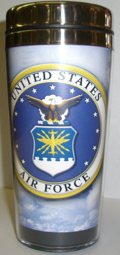 Air Force Crest Travel Mug