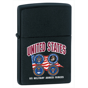 US Armed Forces Zippo