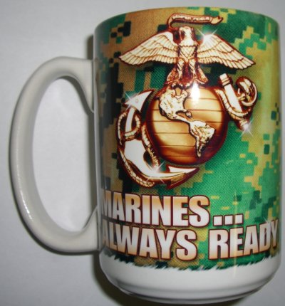 Marine Always Ready ACU Mug