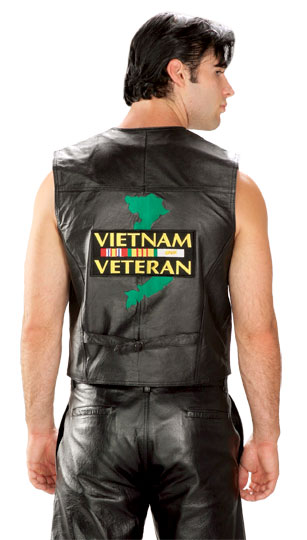 Vietnam Leather Vest