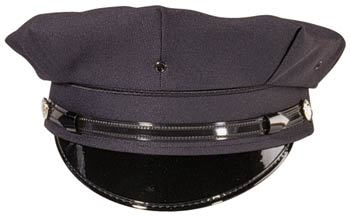 Dark Navy 8 Point Police-Security Hat