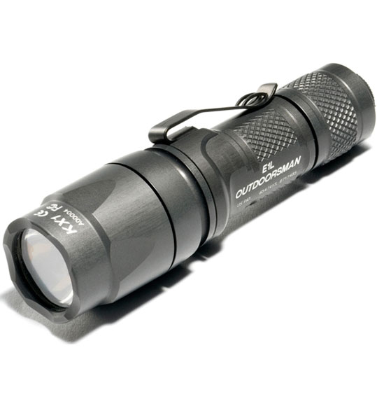 SureFire E1L Outdoorsman Gray White LED
