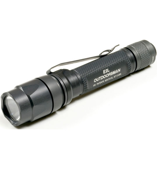 SureFire E2L Outdoorsman Gray White LED