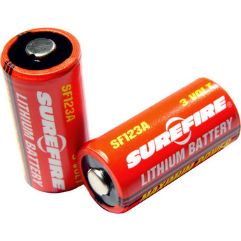 SureFire 2 Pack Lithium Batteries
