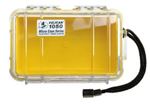 1050 Micro Case Clear & Yellow