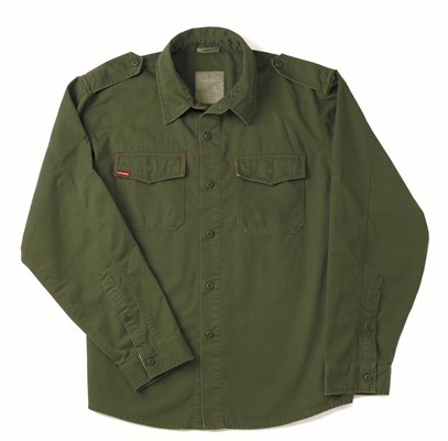 Ultra Force Olive Vintage BDU Shirt