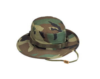Woodland Camo Ultra Force Boonie Hat
