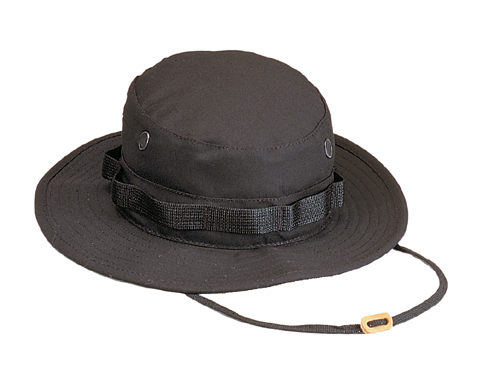 Black Ultra Force Boonie Hat