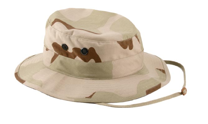 Tri-Color Desert Ultra Force Boonie Hat
