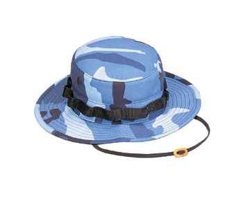 Sky Blue Camo Ultra Force Boonie Hat