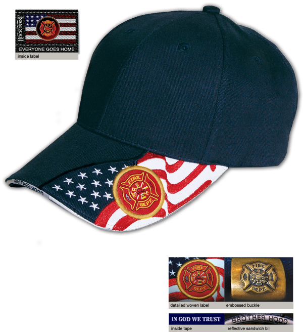 The Brave Navy Low Profile Cap