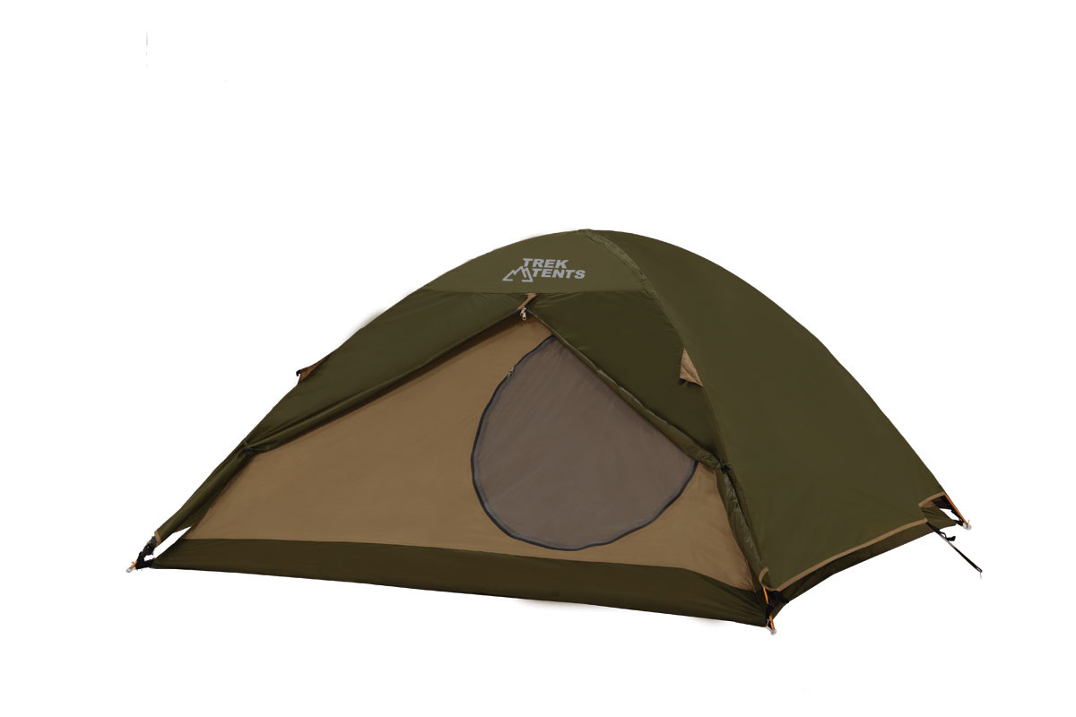 4-Season Hi-Tech Dome Tent With Aluminum Poles 8 X 8 Grn/Tn