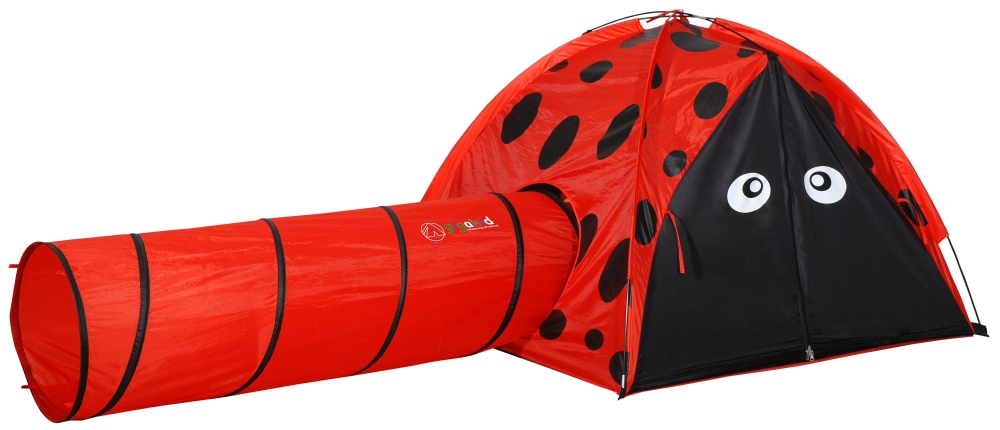 Gigakid Lily The Ladybug Tent 50 X 50 + 4' Tunnel