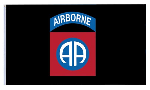 82nd. Airborne 3 x 5 Flag