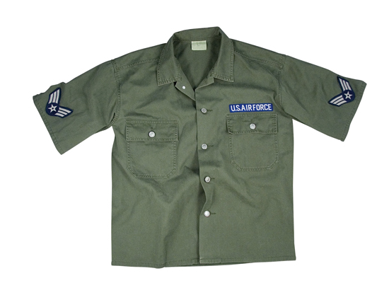 Vintage SS Army Air Corp Shirt 2 Pockets