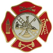 Patch Fire Dept and Flag