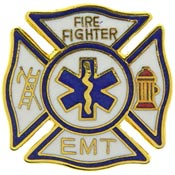 Fire and EMT Pin