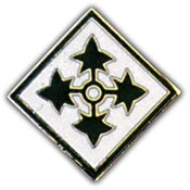 Army 4th Infantry Division Pin