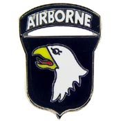 Army 101st A/B Division Pin