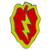 Army 25th Infantry Division Pin