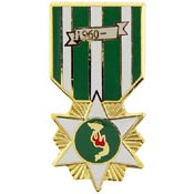 Vietnam Campaign (RVN) Medal Pin