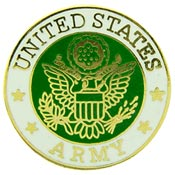 Army Logo Pin