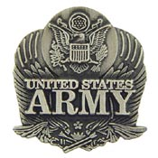 Army Logo Pewter Pin